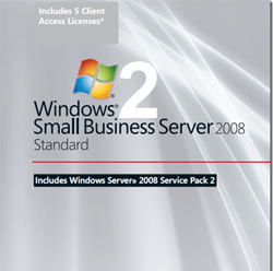 Installation Small business server 2008